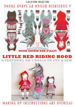 Little Red Riding Hood Tea Towel / Cloth Kit