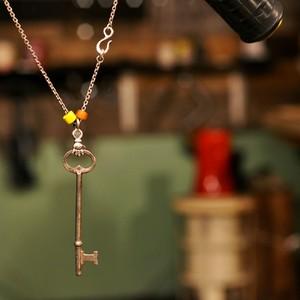 "Custom Pendant ""Skeleton Key"""