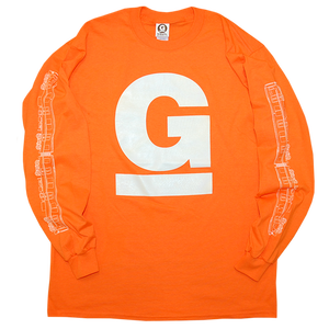 """undaGround"" Long Sleeve Shirt Safety Orange"
