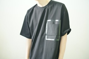 Bigpocket T-shirt(Black)