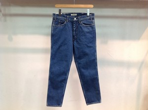 "LIVING CONCEPT  "" 5POCKET TAPERED DENIM PANTS BIO WASH B.BLUE"""