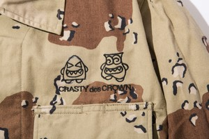 crasty chocolate chip army jkt