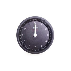 ブラウン BRAUN CLOCK メンズ レディース BC07B-DCF ブラック