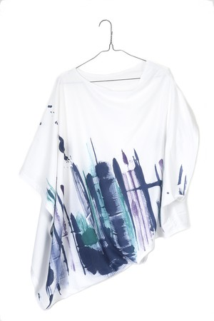 2 WAY WEARABLE ART LOOSE T-shirt [送料/税込]235087
