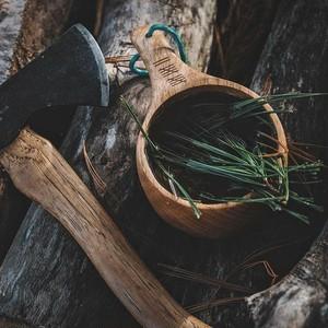 ■Dursten Lore■ 12オンス 木製キャンプカップ