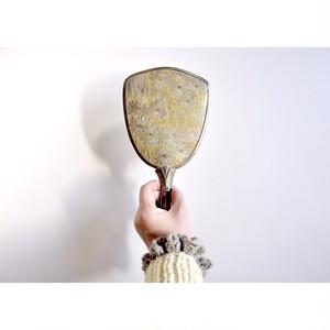 【手かがみ】flower 昭和 ハンドミラー 手鏡