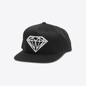 Diamond SUPPLY CO. BRILLIANT SNAPBACK BLACK