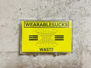 WEARABLESUCKS / WASTE (TAPE+DL)