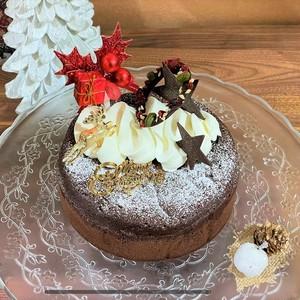 【12月20日までご予約可能】【クリスマスケーキ】ノエルガトーショコラ5号