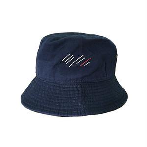 scar /////// BLOOD BUCKET HAT (Navy)