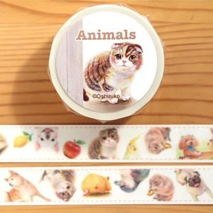 動物マステ〜いろんな動物がいっぱい!♡マスキングテープ〜