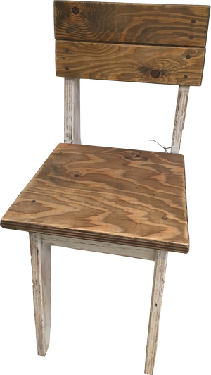 Original Wooden Chair White