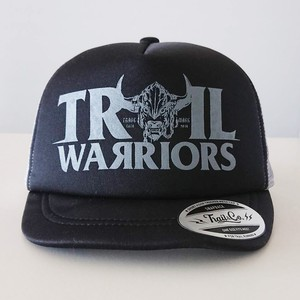 【販売終了】Short Visor Trucker Mesh Cap / TW / Black / Gray / Gray