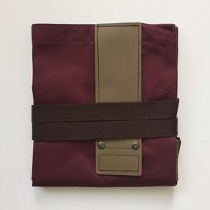 WINEREDxDARKBROWN HASHIRA-JYU mitten pocket set