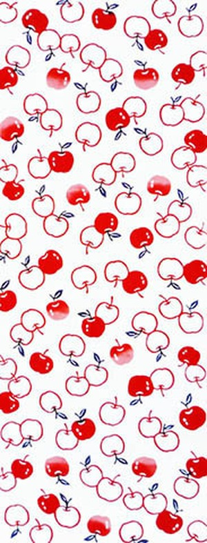 てぬぐい:林檎