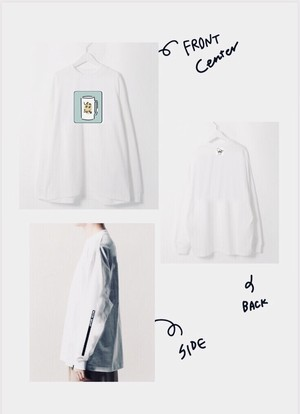 lemon sour long T shirt (レモンサワーver)