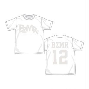 BZMR [Classic LOGO Tee] White on White.