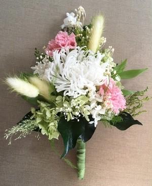仏花 プリザーブドフラワー アナスタシア(花器は付属していません)