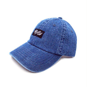 scar /////// BLOOD DENIM WASH CAP (Dark Blue Denim)