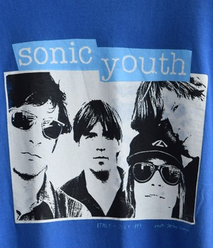 VINTAGE 90s BAND T-shirt -SONIC YOUTH-