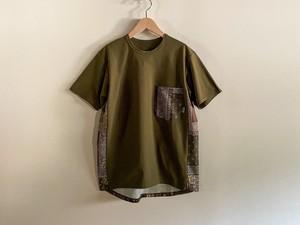 ranor(ラナー) BANDANA T-SHIRT メンズ・レディース 半袖TシャツOLIVE/OLIVE