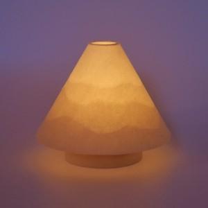 """LEDコードレスミニランプ 「山」""""和紙山並"""""""