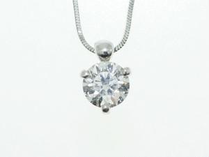 【PT900】0.670ct UP ダイヤモンドネックレス