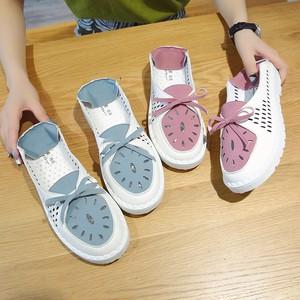 【sandal】Flat  2018 new  summer  Korean soft mule