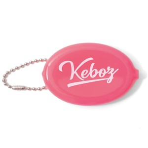 RUBBER COIN CASE【PINK】