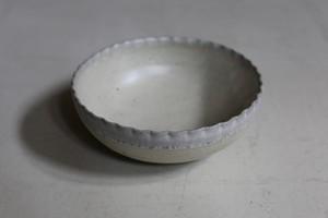 余宮隆 12.縁ゆら輪花鉢
