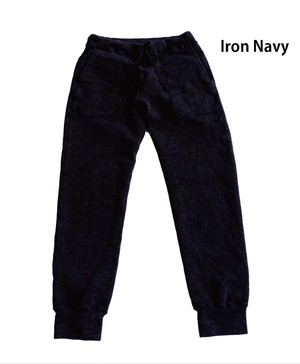【Yetina】sweat pants (iron navy)