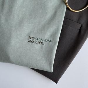 NO BANANA NO LIFE.Tシャツ/くすみミント
