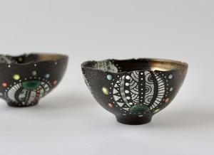 黒風船茶碗