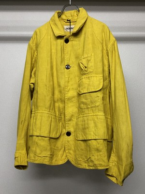 BEAUGAN HARTOG JACKET YELLOW