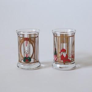 HOLMEGAARD X'mas Shot Glass 1993・ホルムガード クリスマス ショットグラス 1993