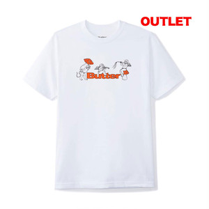 【アウトレット】BUTTER GOODS MUSHROOMS TEE WHITE サイズL