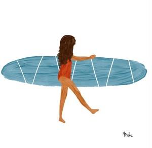 [bonin miyu] Little surfer