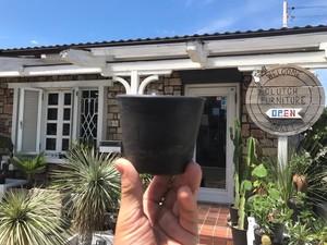 プラ鉢  ポット  ブラック W10×H8(cm) / プラスチック 黒 植木鉢