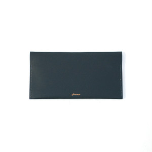 planar -Wallet L Black Plain