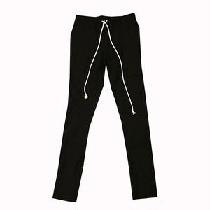 EPTM/エピトミ/裾ジップ/ストレッチパンツ/ブラック