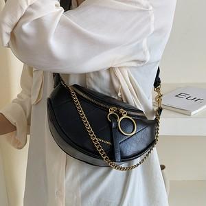 【小物】韓流ファッション超人気合わせやすいチェーン斜め掛けバッグ