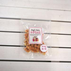 【DOG'S TABLE PLUS】ササミ チーズ キューブ 80g