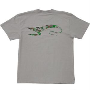 Pelican eel Tシャツ(ライトグレー)