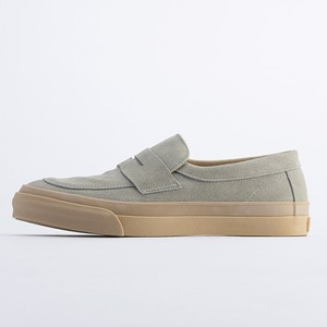 PRAS-COMFY LOAFERS  Lt.GRAY SUEDE