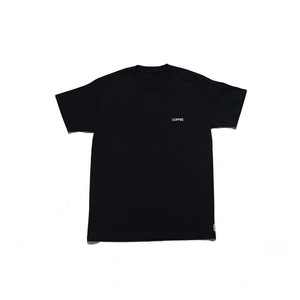 "SPICE COLOR TEE ""COFFEE"" -  BLACK"