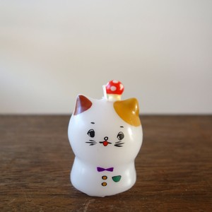 きのこネコ/赤キノコ