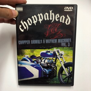 バイク系DVD choppahead CHOPPER ANIMALS & MAYHEM MACHINES VOL.3