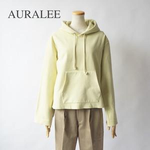 AURALEE/オーラリー ・SUPER MILLED SWEAT CUT-OFF P/O PARKA