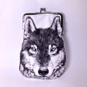 【PAViLiON】オオカミ がまぐち