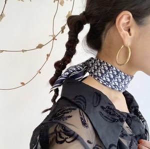 Dior トロッター  シルクスカーフ